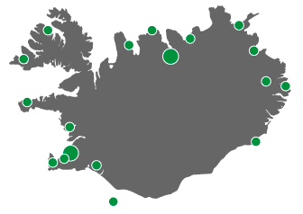 Iceland Car Rental Locations